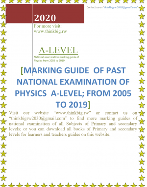 PHYSICS A-LEVEL